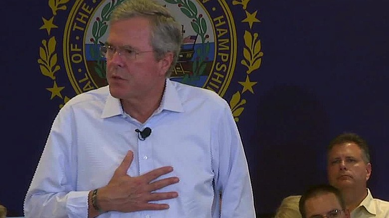 August: Bush gets personal while discussing drug addiction
