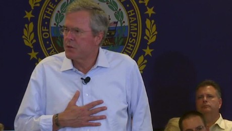 Jeb Bush daughter addiction epidemic New Hampshire sot_00004319