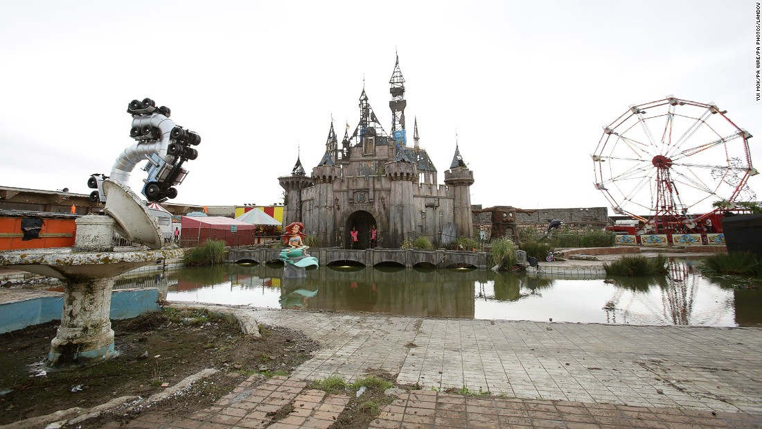 Banksy's Dismaland theme park -- the street artist's dystopian take on Disneyland -- opened in August in southwest England, and tickets sold out within hours.
