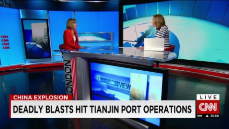 exp Judith Tyson, Research Fellow, Overseas Development Institute, discusses the Tianjin explosions._00002001