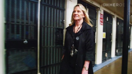 She helps San Quentin inmates be 'better people'