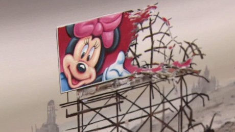 New Banksy 'Dismaland' theme park launch