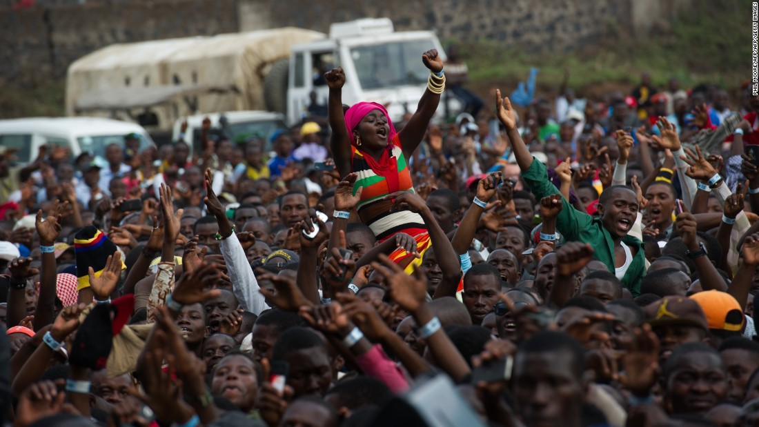 The DRC's densely populated land is set to become a lot busier. Forty five percent of is citizens are below the age of 15, and its population is predicted to more than double between now and 2050.