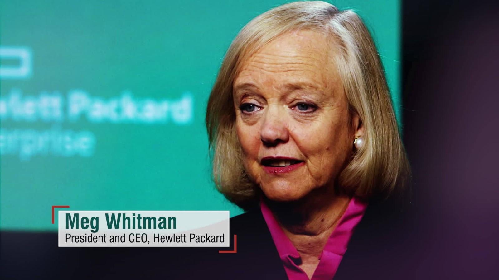 meg whitman and her leadership style Meg whitman and her role in ebay´s success  leadership styles and their  effect on ceos leadership style and their effect on ceos.