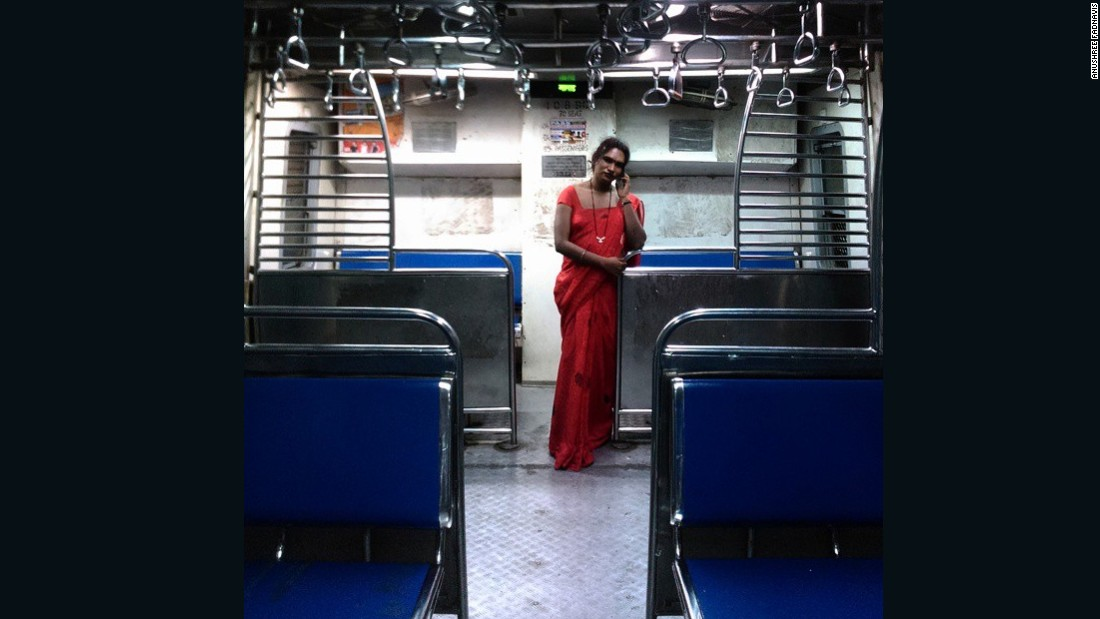 """Train Diaries"" is a project by photojournalist <a href=""https://instagram.com/anushree_fadnavis/"" target=""_blank"">Anushree Fadnavis</a>. She spends her time in Mumbai's commuter trains, chronicling the colorful stories of its passengers.<br /><br />""<a href=""https://instagram.com/p/x6lZzuOQ93/"" target=""_blank"">This</a> is Sarika, a transgender woman I met in the local train. She works in the male trains unlike others, asking for money. The transgender  community in India have been denied their rights for a long time. Few have a full time job -- this is how they earn their livelihood. I want to show that they are real people with real dreams.  I hope I can help contribute towards change and get them the respect they deserve."