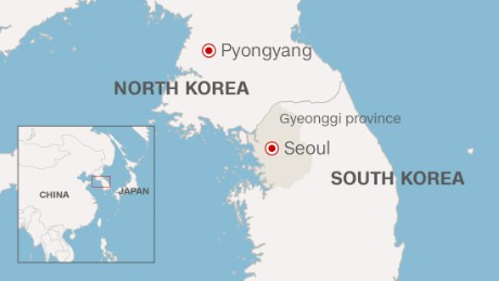North South Korea Meet For Talks After Tensions CNN - Us north south map