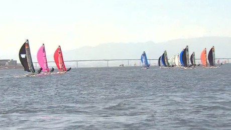 Olympic sailors not daunted by sewage in Rio waters