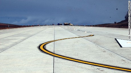 Remote Atlantic runway to open up Napoleon's hidden island