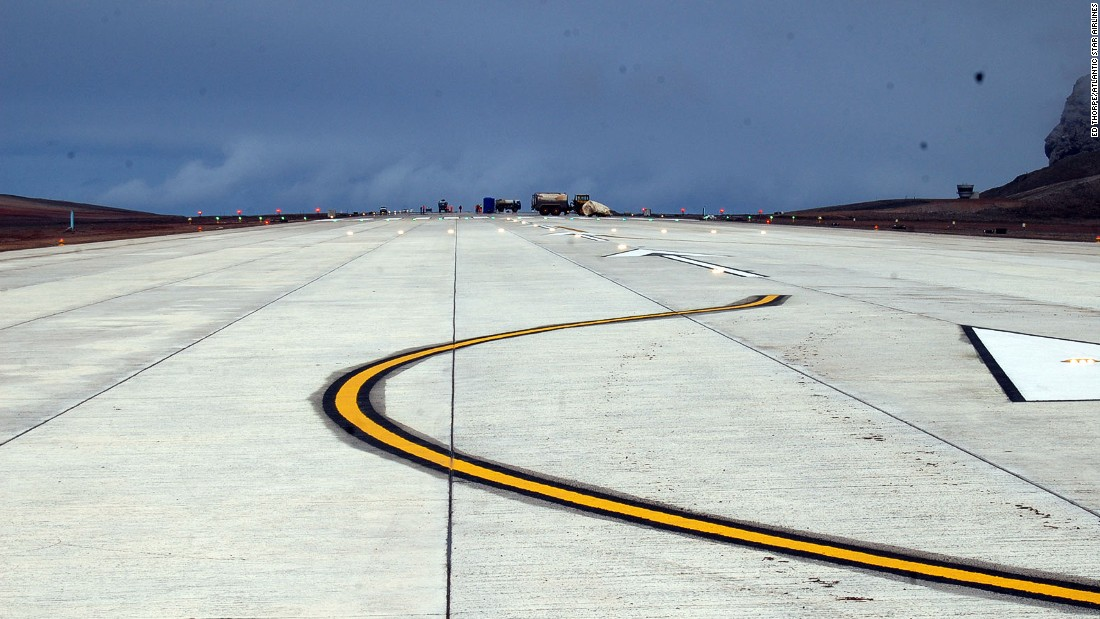 Once completed in 2016, a new runway on St. Helena is expected to serve air connections to Cape Town, South Africa and the UK.