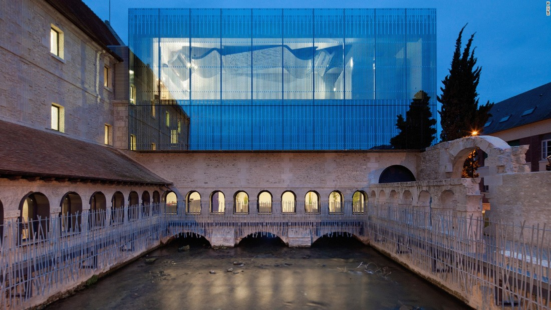 The revamp of this prison, Convent of the Penitents, in Louviers, France into a music school won several awards when it was finished in 2012.