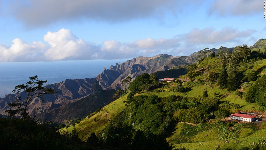 Once a strategic Atlantic shipping port of call, St. Helena has been isolated by the lack of an air connection.