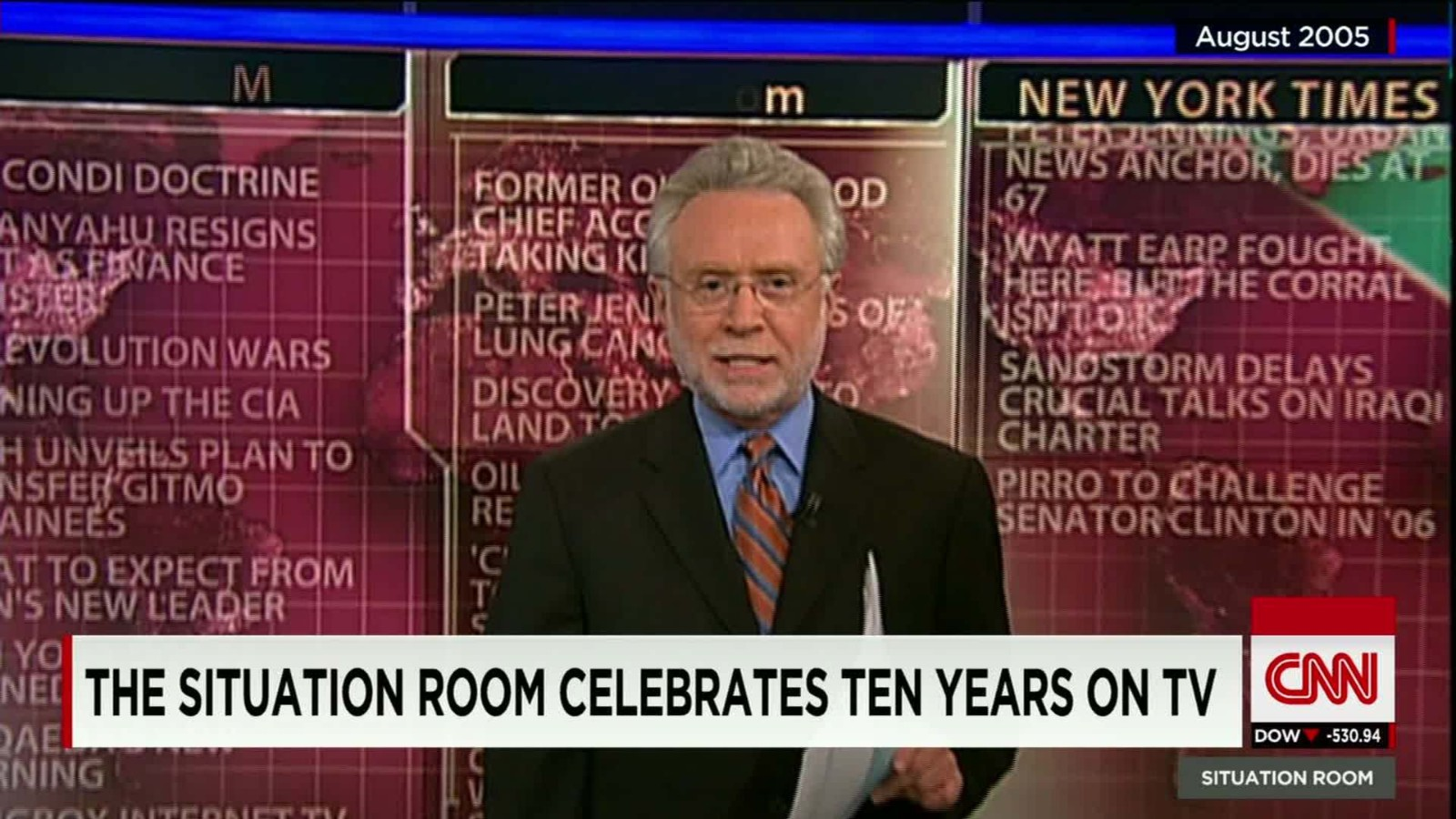 The Situation Room Celebrates 10 Year Anniversary   CNN Video