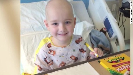 five year old cancer patient starts crayon donation good stuff Newday _00000421