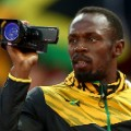 usain bolt video camera