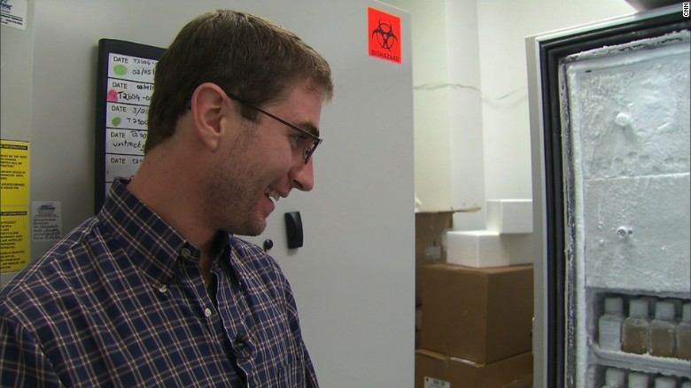 one man s poop is another s medicine cnn com eric a poop donor for openbiome looks at bottles of frozen fecal transplants he