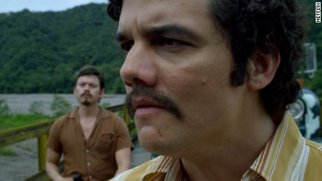Wagner Moura stars in 'Narcos' on Netflix.