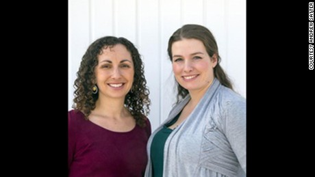 Rebecca Melsky (left) and Eva St. Clair, co-founders of Princess Awesome