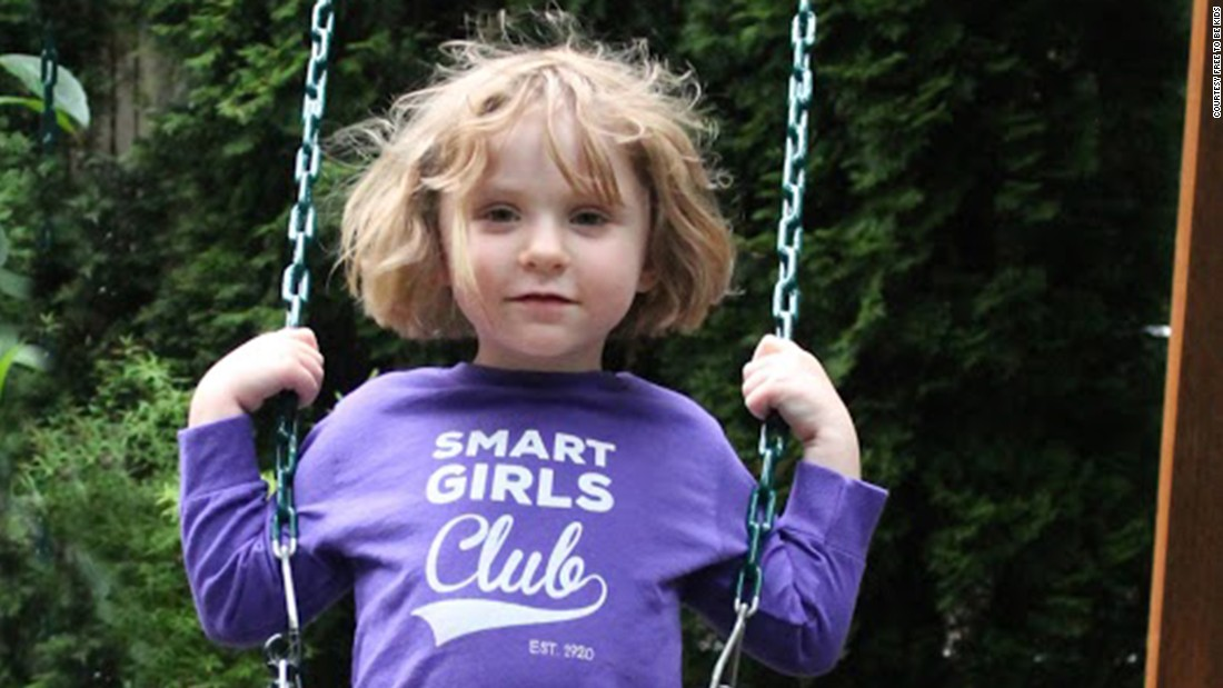 "<a href=""http://www.freetobekids.com/"" target=""_blank"">Free To Be Kids</a> aims to tackle gender cliches head on with empowering T-shirts for girls and boys, such as this one titled ""Smart Girls Club."""