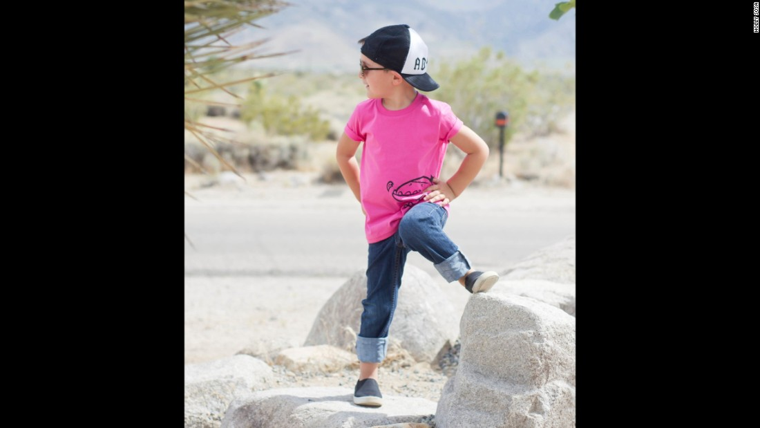 "At <a href=""http://www.quirkiekids.com/"" target=""_blank"">Quirkie Kids</a>, they believe all kids should be free to wear pink regardless of their gender. The company offers a line of gender neutral T-shirts."