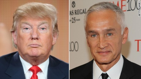 Univision's Ramos booted from Trump event