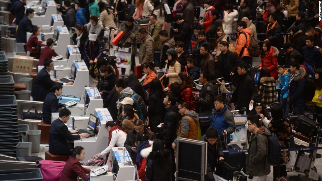 Beijing's passenger traffic grew by 4.4%, with 89.9 million passengers passing through last year.