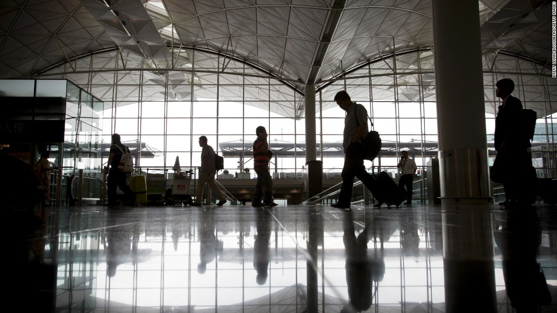 <strong>10. Hong Kong International Airport </strong>kept its 10th place ranking in total passenger traffic, with more 63 million passengers. The airport also kept first place in total air-cargo traffic, with 4.4 million metric tons.