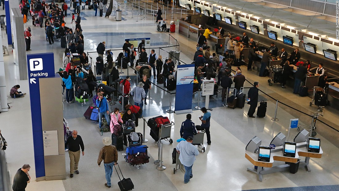 Dallas-Fort Worth International welcomed more than 65.5 million passengers in 2015 -- a 2.6% increase over the previous year, according to Airport Council International's 2015 passenger traffic results. The Texas facility dropped from ninth to tenth place.