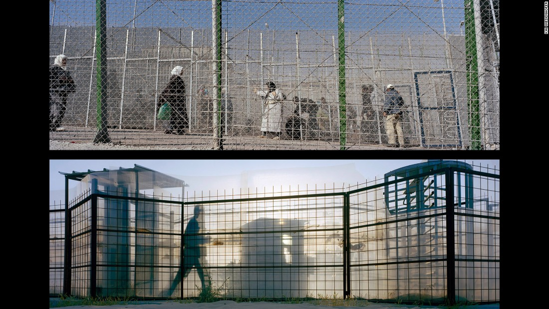 Top: Mellila, Barrio Chino; Spain, 2009. Bottom: Gaza, Gush Katif Settlement; Occupied Palestinian Territories, 2005.