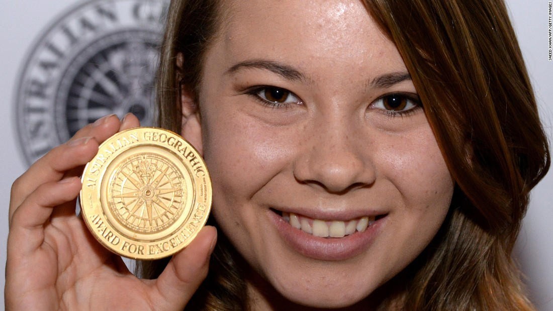 "The late Steve Irwin's daughter, Bindi Irwin, has grown up to be quite the conservationist, just like her dad. She's also become a bit of a celeb like her father and was recently recruited for season 21 of ""Dancing With the Stars."""