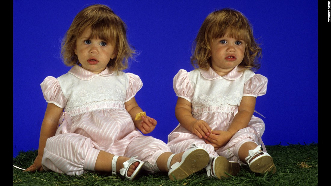 "The Olsen twins have been in the entertainment industry since they were literally in diapers; the pair took turns playing Michelle Tanner on ""Full House"" from 1987 to 1995. They went on to star in their own movies before starting their fashion lines, Elizabeth and James and The Row."