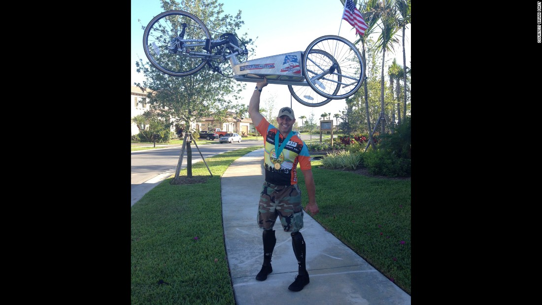 Brian Mast participated in the Pan-Florida Challenge for Hungry Kids, cycling 160 miles over two days this past March.