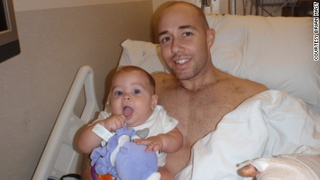 Brian Mast with then 6-month old Magnum.