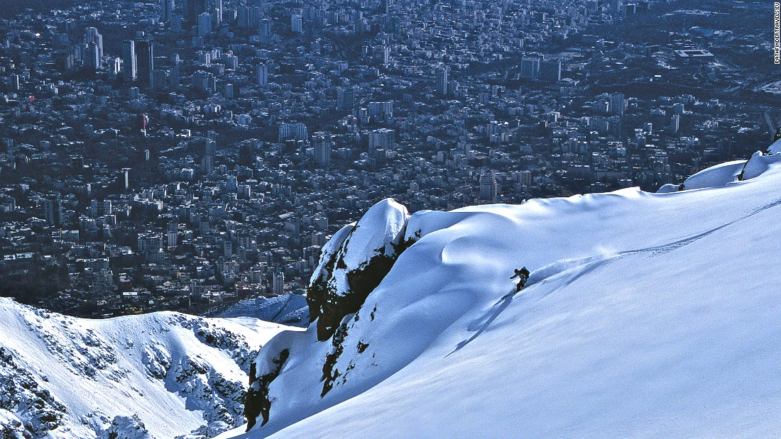 Skiing is a long-established pastime of Iran's middle class. With only 1% of skiers coming from abroad, there's a huge opportunity for the country's burgeoning tourism industry.