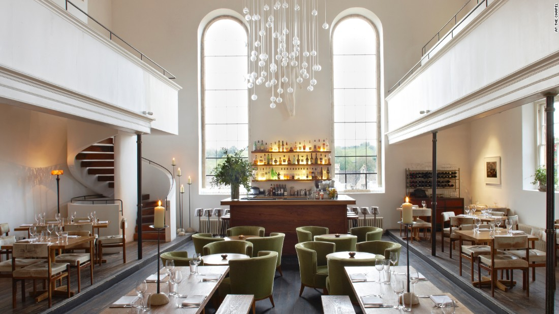 "<a href=""http://www.atthechapel.co.uk/"" target=""_blank"">At the Chapel</a>, in the idyllic town of Bruton in Somerset, is the brainchild of restauranteur Catherine Butler and designer/furniture-maker Ahmed Sidki. <br /><br />The restaurant, coffee shop, wine store and rooms are housed in a 17th-century Grade II Listed building (it is on the national register of buildings marked and celebrated as having special architectural or historic interest)."