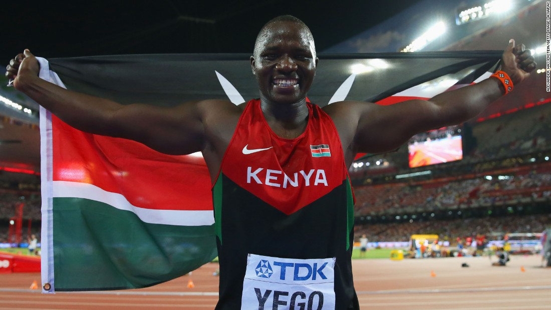 "Kenya's athletic success isn't just in running -- last year, Julius Yego became the first Kenyan field athlete to win a medal at the World Championships with a gold in javelin. Famously, he taught himself javelin from YouTube. ""He's a poster child of what you can do if you get into sports,"" said Enda co-founder Navalayo Osembo-Ombati. ""I don't know if he has an idea of how much of an impact he made."""