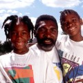 Richard Williams and daughters