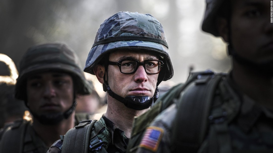 "<strong>""Snowden"" </strong>: Joseph Gordon-Levitt  stars as Edward Snowden in the Oliver Stone directed film. <strong>(iTunes)</strong>"