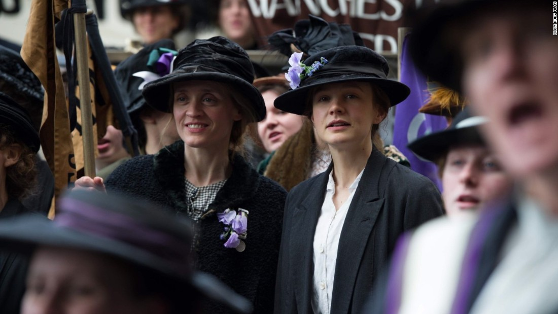 "Carey Mulligan, center right, Meryl Streep and Helena Bonham Carter are the stars of <strong>""Suffragette,""</strong> about the right to gain the vote for women in turn-of-the-20th-century Britain. Abi Morgan, who wrote the scripts for ""The Iron Lady,"" ""Shame"" and the TV series ""The Hour,"" wrote the screenplay; Sarah Gavron directs."