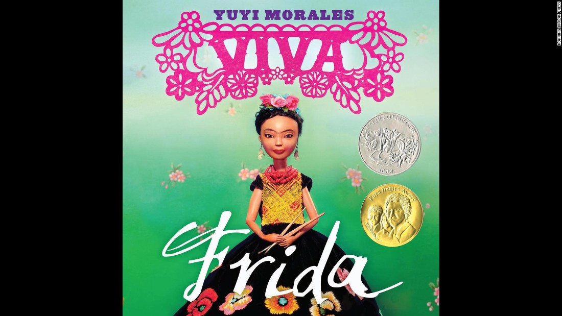 """Viva Frida,"" <a href=""http://www.cnn.com/2015/02/02/living/feat-newbery-caldecott-youth-media-awards-2015/index.html"">written and illustrated by Yuyi Morales</a>, was an honor book, or runner-up, for the prestigious Randolph Caldecott Medal for the most distinguished picture book for children. Morales's book also won a Pura Belpre Award, which is designated for a Latino writer and illustrator whose children's books best portray, affirm and celebrate the Latino cultural experience."