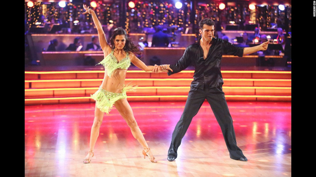 Reality star Melissa Rycroft took the trophy with pro Tony Dovolani in the season 15 competition.
