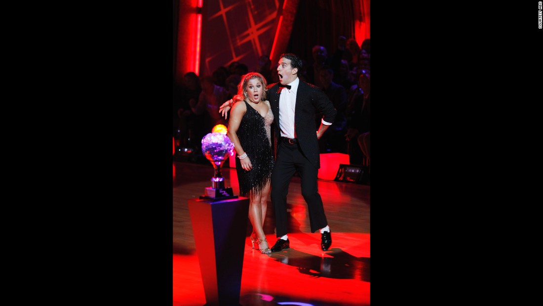 Olympic gold medal-winning gymnast Shawn Johnson and professional dancer Mark Ballas won the season 8 championship.