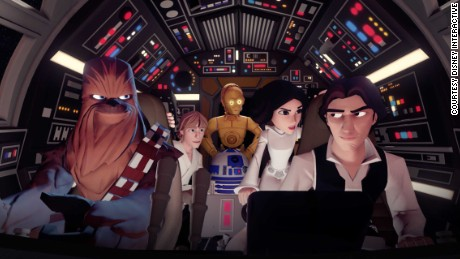 """Disney Infinity 3.0"" allows gamers to retell iconic moments from the original ""Star Wars"" trilogy."