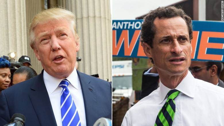 Donald Trump: Anthony Weiner is a 'bad guy'