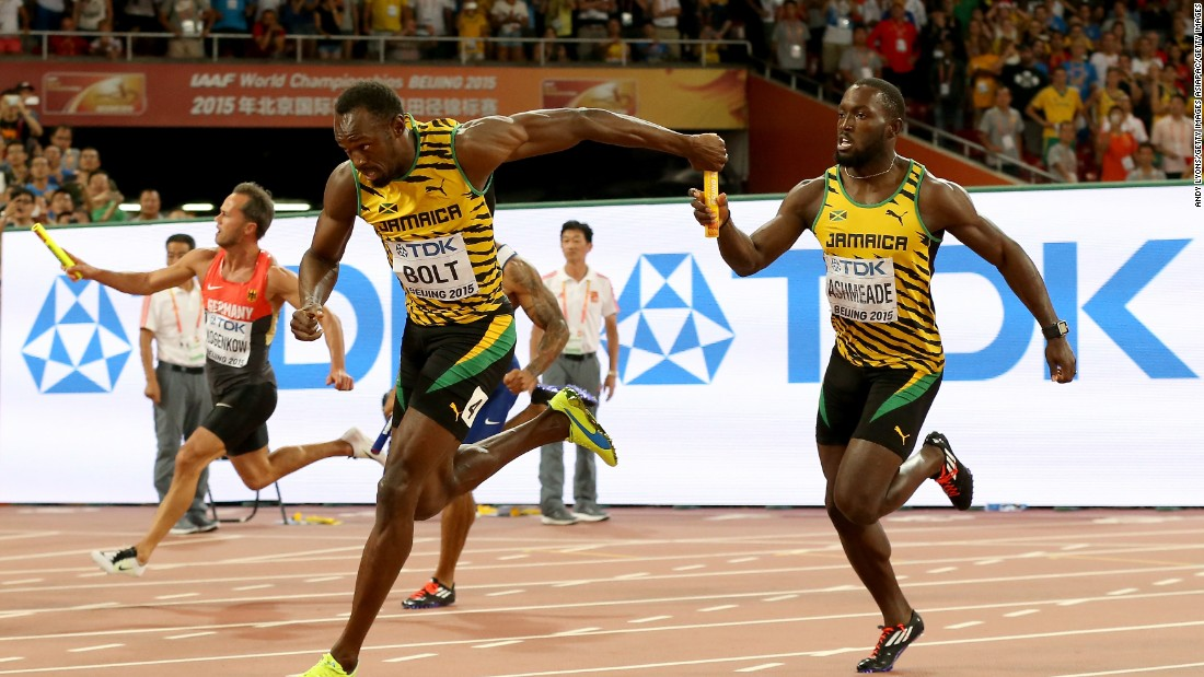 Bolt has now won 11 gold medals at World Athletics Championships, including three in Beijing this week.
