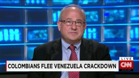 exp Colombians Flee Venezuela Crackdown_00002001