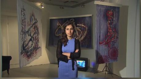 cnnee pkg holmes graffiti artist malina suliman taliban_00002112