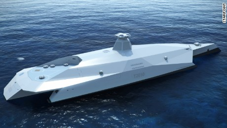 British warship of the future