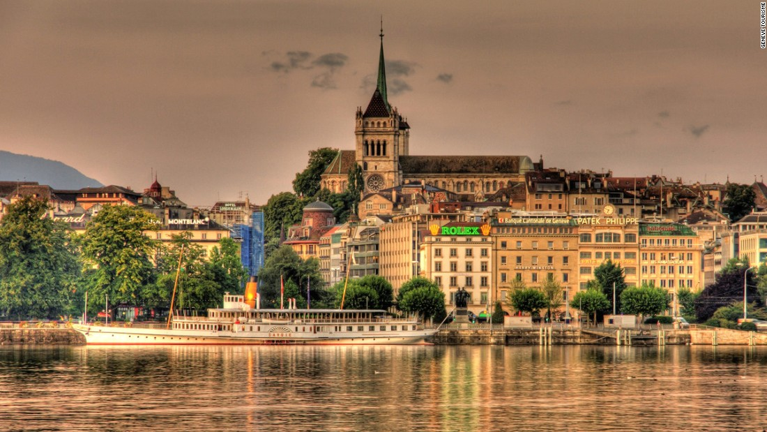Geneva is the city of choice for meetings between world leaders, home to some of the most exclusive watch and jewelery houses, and the birthplace of the World Wide Web. This is also the city where the most expensive bottle of wine ever sold was auctioned off.