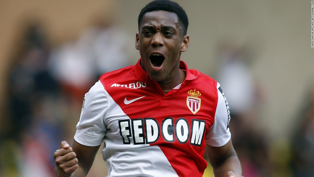 Anthony Martial scored only 11 senior-level goals in his career before being sold by AS Monaco for $55.5 million to Manchester United. Although he was not the player's agent, Mendes reportedly recommended the player to the buyers.