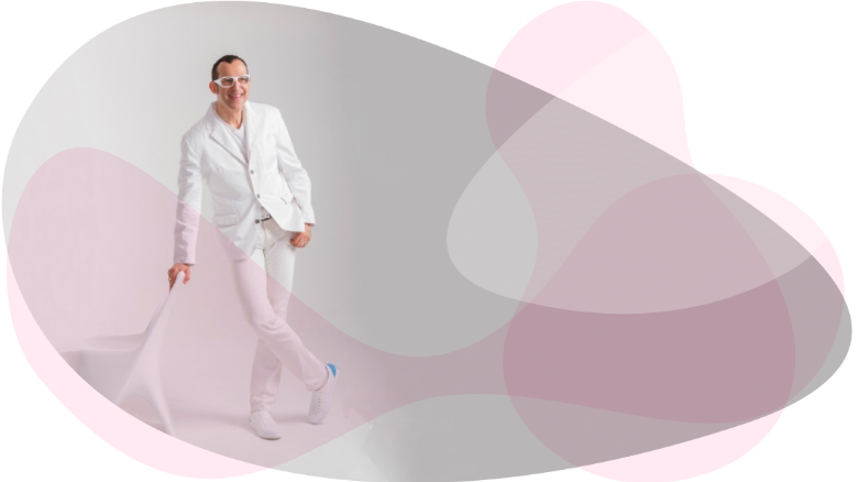 Inside the colorful world of industrial designer Karim Rashid